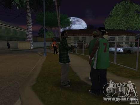 Pak versión doméstica armas 4 para GTA San Andreas sexta pantalla