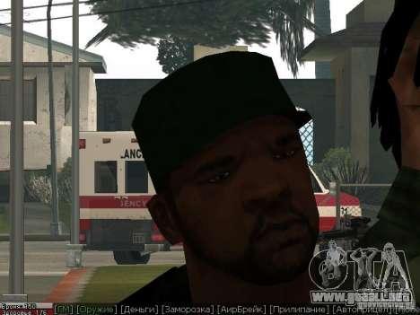 Dope para GTA San Andreas quinta pantalla