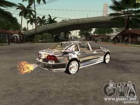 Cromado de Volkswagen Phaeton para la visión correcta GTA San Andreas