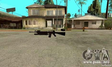 M16A4 + M203 para GTA San Andreas segunda pantalla