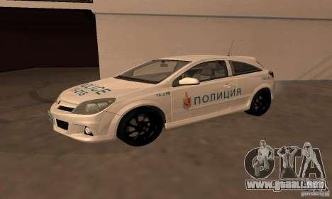 Opel Astra GTS para visión interna GTA San Andreas