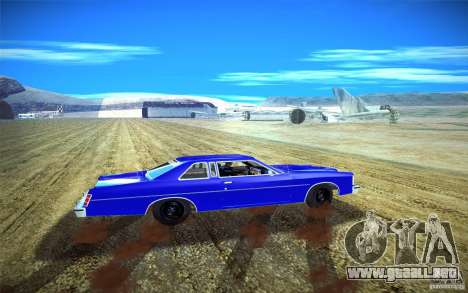 Ford LTD Coupe 1975 para la visión correcta GTA San Andreas