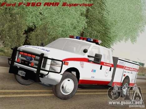 Ford F-350 AMR Supervisor para GTA San Andreas
