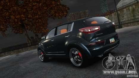 Kia Sportage 2010 v1.0 para GTA 4 left