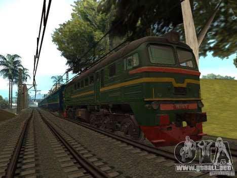 Modificación del ferrocarril III para GTA San Andreas quinta pantalla