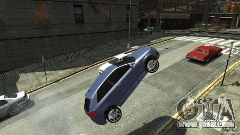 Audi S3 2006 v1.1 tonirovanaâ para GTA 4 vista hacia atrás