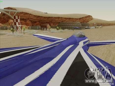 F-15 SMTD para la vista superior GTA San Andreas