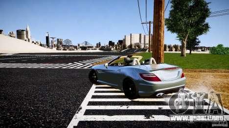 Mercedes-Benz SLK 2012 para GTA 4 visión correcta