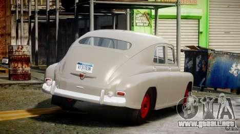 GAS M20V ganando americano 1955 v1.0 para GTA 4 vista superior
