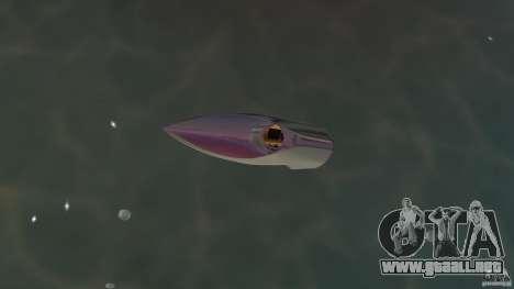 Bugatti Sang Bleu Speedboat para GTA Vice City visión correcta