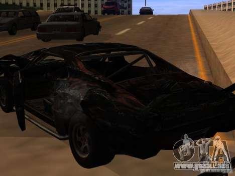 Car from FlatOut 2 para visión interna GTA San Andreas