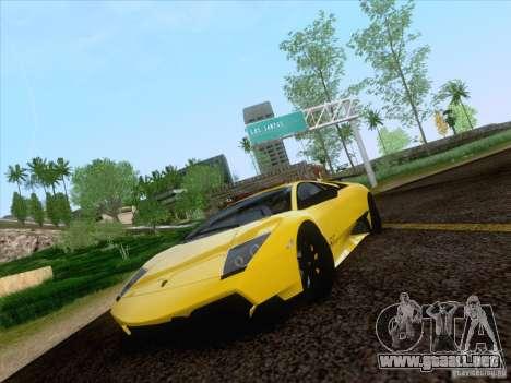 Lamborghini Murcielago LP670–4 SuperVeloce para GTA San Andreas