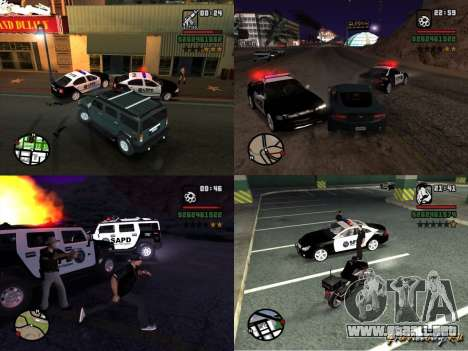 GTA San Andreas SAPD POLICE PACK para GTA San Andreas left
