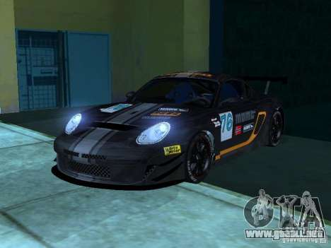 Porsche Cayman S NFS Shift para vista lateral GTA San Andreas