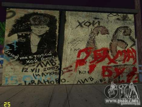 Pared rememorativa George Hoey para GTA San Andreas