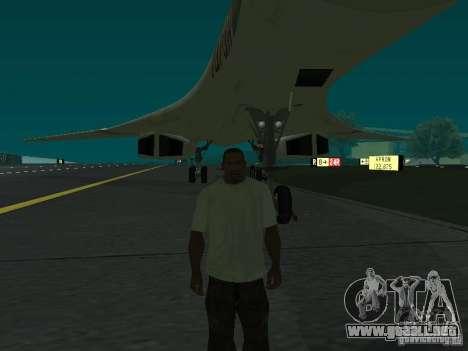 El -160 para GTA San Andreas vista posterior izquierda