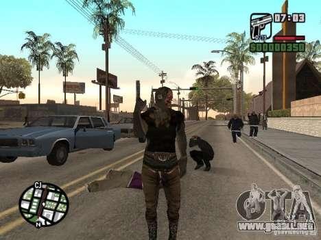 Zombe from Gothic para GTA San Andreas segunda pantalla