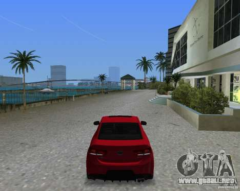 Kia Forte Coupe para GTA Vice City left