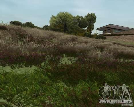Grass form Sniper Ghost Warrior 2 para GTA San Andreas tercera pantalla