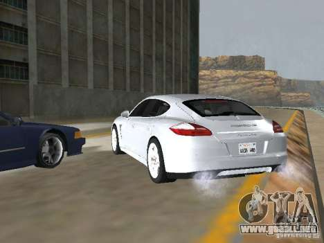 Porsche Panamera Turbo Tunable para GTA San Andreas left
