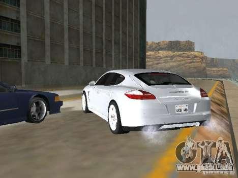 Porsche Panamera Turbo Tunable para GTA San Andreas left