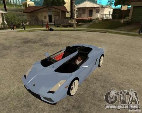 Lamborghini Concept-S para GTA San Andreas