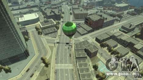 Balloon Tours option 3 para GTA 4 Vista posterior izquierda