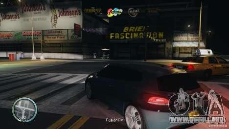 Coloured Radio HUD para GTA 4 quinta pantalla