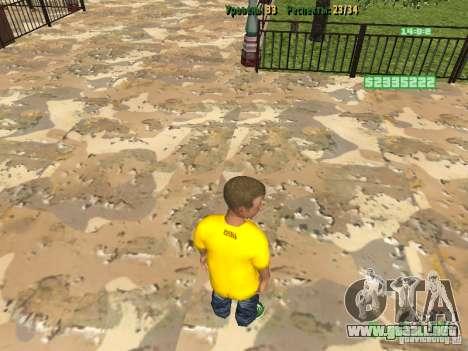 Pupila pequeña para GTA San Andreas segunda pantalla