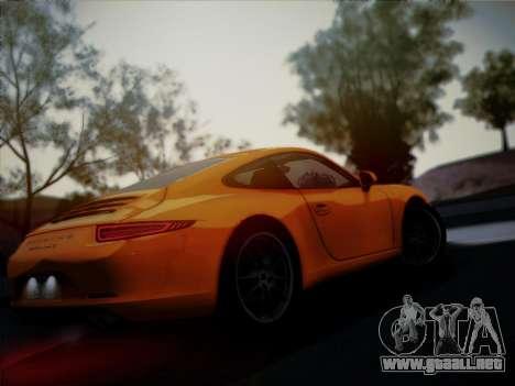 Porsche 911 (991) Carrera S para vista lateral GTA San Andreas