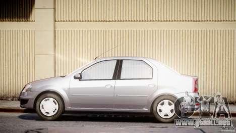 Dacia Logan v1.0 para GTA 4 left