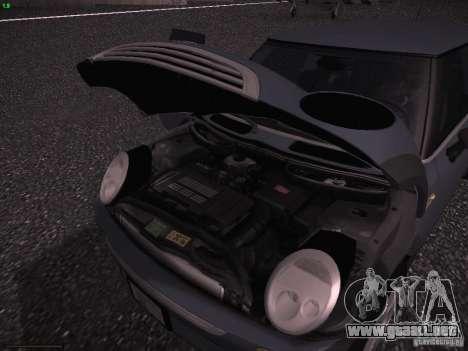 Mini Cooper S para la vista superior GTA San Andreas
