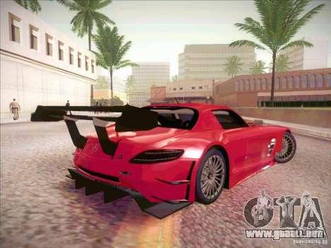 Mercedes-Benz SLS AMG GT-R para la visión correcta GTA San Andreas