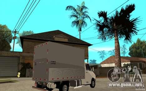 Mercedes-Benz Sprinter Truck para la visión correcta GTA San Andreas