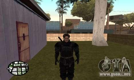 Dark Knight Skin Pack para GTA San Andreas décimo de pantalla