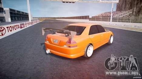 Toyota JZX110 para GTA 4 vista superior
