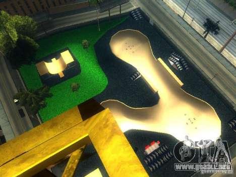 New BMX Park para GTA San Andreas segunda pantalla