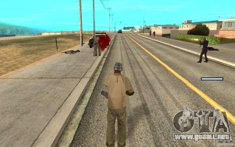Protección para Cj para GTA San Andreas quinta pantalla