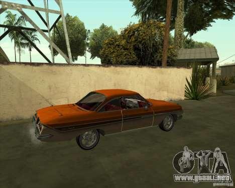 Chevrolet Impala SS 1961 para GTA San Andreas left