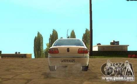 Opel Omega B 1997 para la visión correcta GTA San Andreas