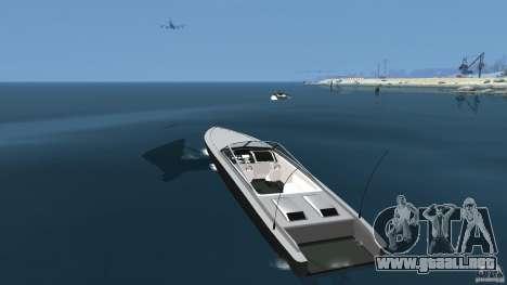 Nuevo Jetmax para GTA 4 Vista posterior izquierda