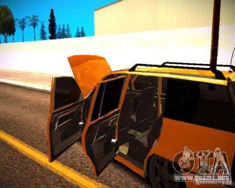 Opel Astra GSI Caravan para visión interna GTA San Andreas