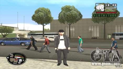 Asesino en serie para GTA San Andreas segunda pantalla