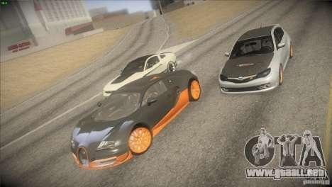 Bugatti Veyron Super Sport para la vista superior GTA San Andreas