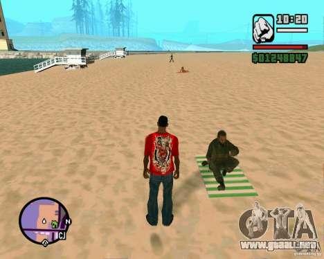 Acción de COD Modern Warfare 2 para GTA San Andreas