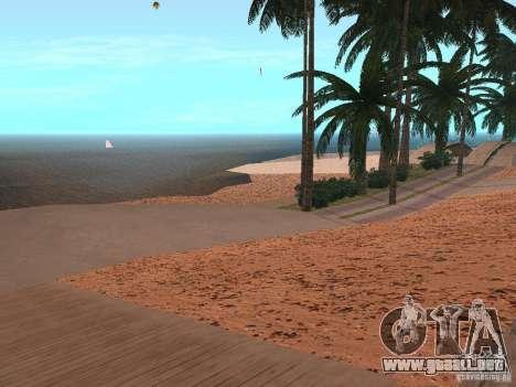 Playa HQ v1.0 para GTA San Andreas segunda pantalla