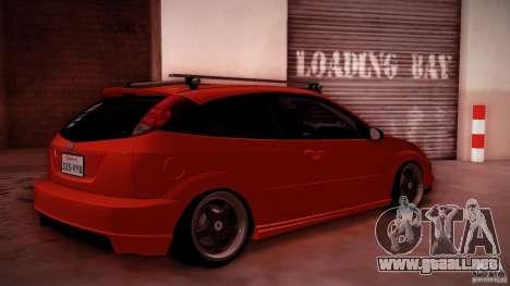 Ford Focus SVT Clean para visión interna GTA San Andreas