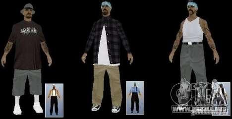 Nueva cuadrilla de la Rifa de las pieles para GTA San Andreas