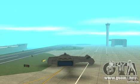 Gaceta YT-2400 para vista lateral GTA San Andreas