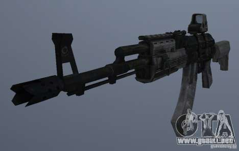 AK47+Holographic sight para GTA San Andreas tercera pantalla